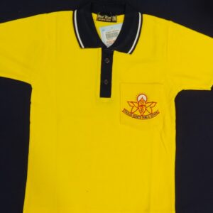 SACRED HEART YELLOW T-SHIRT