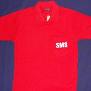 ST MARY(ENG) RED T-SHIRT