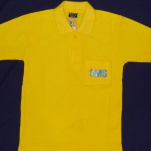 ST MARY(ENG) YELLOW T-SHIRT