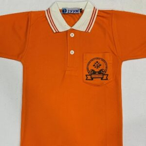DRONA'S DIKSHA ORANGE T-SHIRT