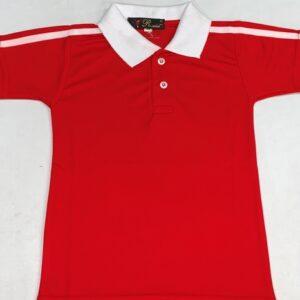DAM'S KIDZEE RED T-SHIRT